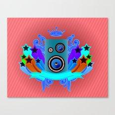 Music King Canvas Print