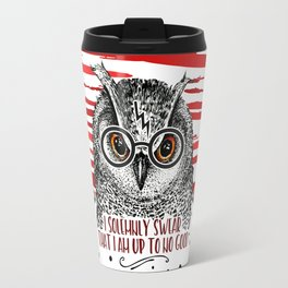 Owl HP swirl Travel Mug