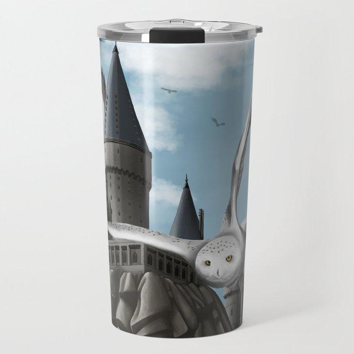 Hedwig's flight Travel Mug