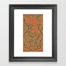Leafyhead Framed Art Print