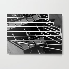 Abstract Architecture VI Metal Print