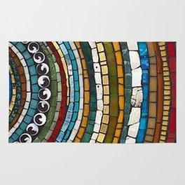 Mosaic Beyond the Center Rug