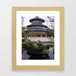 China Pavilion Framed Art Print