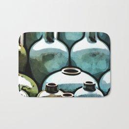 Ceramic Vases Bath Mat