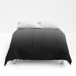 Dark Ombre Comforters