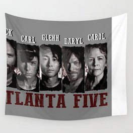 Atlanta Five - The Walking Dead Wall Tapestry
