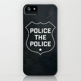 Police The Police iPhone Case