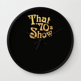 Title - That '70s Show Wall Clock