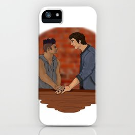 Malec on the Balcony iPhone Case