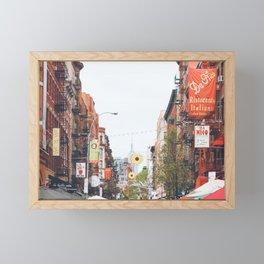 Mulberry Street Little Italy Framed Mini Art Print