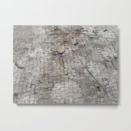Mosaic Tile Floor of Augustus Caesar, Capri, Italy Metal Print
