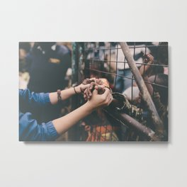 Connected. (Bound By Love) Metal Print