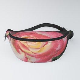 Multi-Hued Rose Fanny Pack
