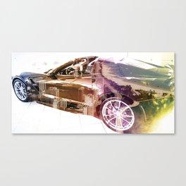 """""""Vette: Lakeshore Drive"""" Canvas Print"""