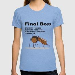 Final Boss - Black Letters T-shirt