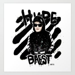 hypebaest series Art Print