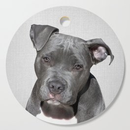 Pit bull - Colorful Cutting Board