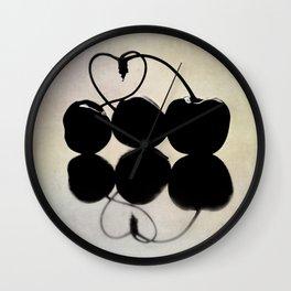 cherries III Wall Clock