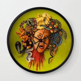 Her Rage Wall Clock