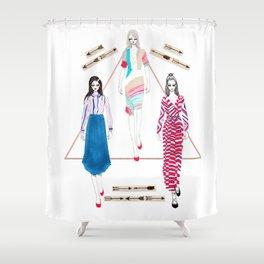 Fashionary 10 Shower Curtain