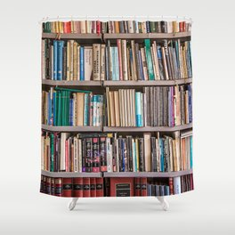 Library books Shower Curtain