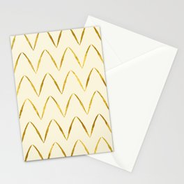 Cream Gold Foil 05 Stationery Cards