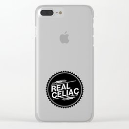 Real Celiac Clear iPhone Case
