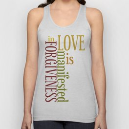 Love is Forgiveness 2 Unisex Tank Top