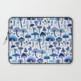 Blue Mushrooms Laptop Sleeve
