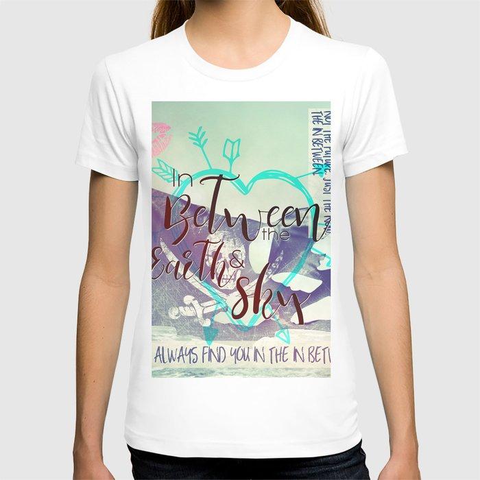 In Between artwork T-shirt