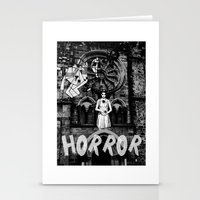 horror Stationery Cards featuring Horror by alexflasher