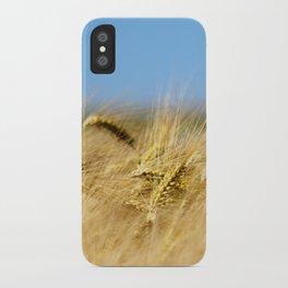 Blue & Gold iPhone Case