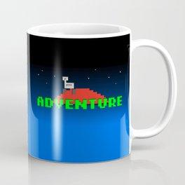 8-Bit Adventure On Mars Coffee Mug