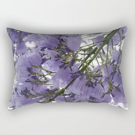 It's Raining Purple Cups Rectangular Pillow