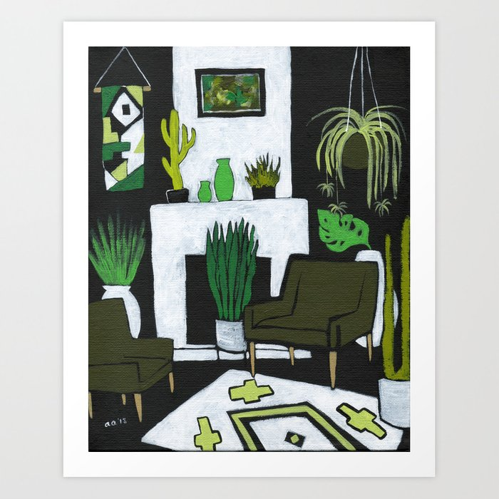 The Green Room Kunstdrucke