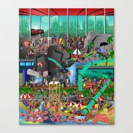 Waterpark! Canvas Print