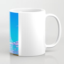 Railroad Crossing Clouds Coffee Mug