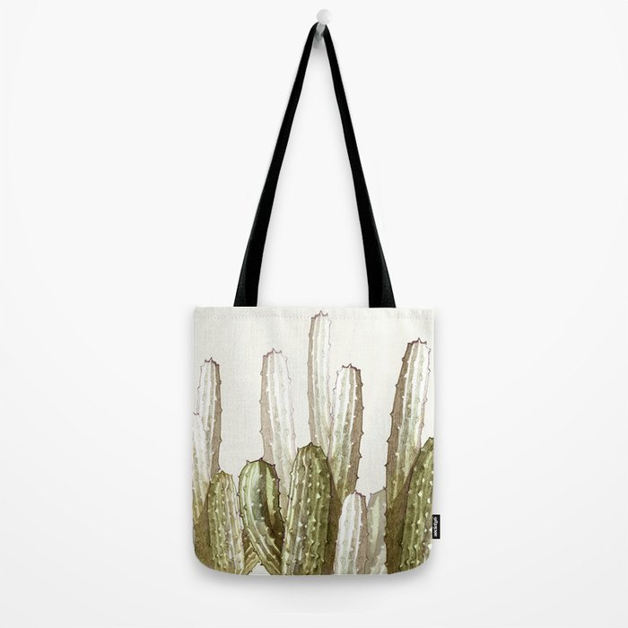cactus florest Tote Bag