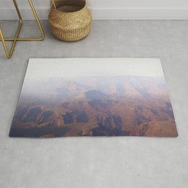 Smoky Hazy Days in the Grand Canyon Rug