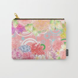 Is flowering seasons- a dream come true / 遍地花開-滿地結果 Carry-All Pouch