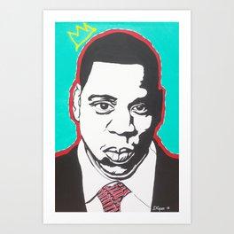 Mr. Carter Art Print
