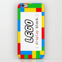 pun iPhone & iPod Skins featuring CSS Pun - Lego by iwantdesigns
