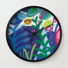 Secret garden III Wall Clock