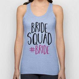 Bride Squad Bride Unisex Tank Top