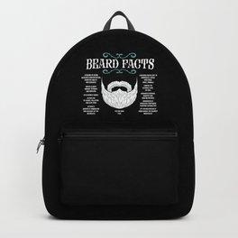Beard Facts | Facial Hair Backpack