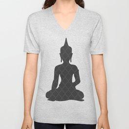 Dark Buddha Unisex V-Neck
