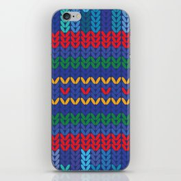 knitted iPhone Skin