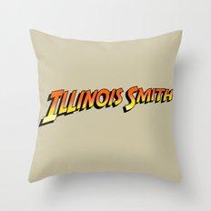 Illinois Smith Throw Pillow