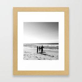 Three Amigos, Surf Framed Art Print