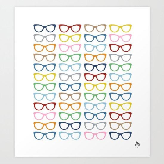 Glasses #2 Art Print